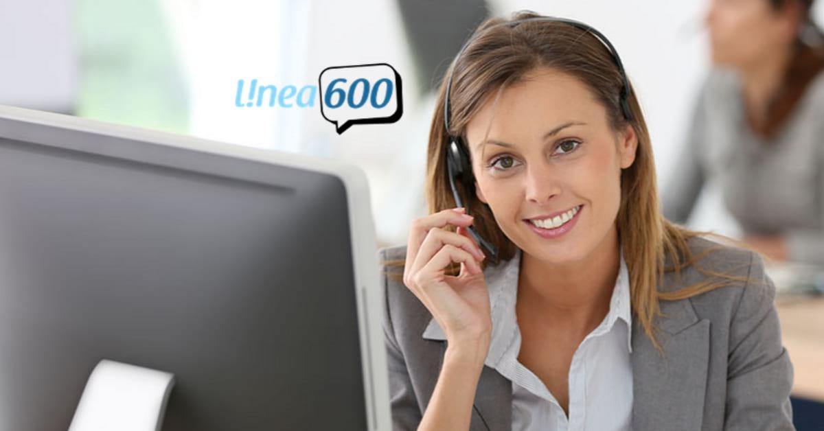 Número 600 empresarial en Chile - linea600.cl